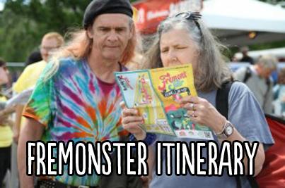Fremonster-Itinerary