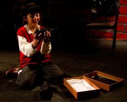 "Sophia Schloss in ""A Child's Christmas in Wales"" 2011 Photo by Armen Stein"